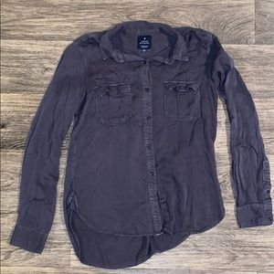 "American Eagle ""boyfriend"" shirt"